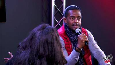 Bill Bellamy in the KISS 104.1 Live Lounge Part 4
