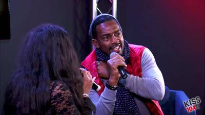 Bill Bellamy in the KISS 104.1 Live Lounge Part 3