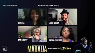 The cast of Lifetime's Mahalia