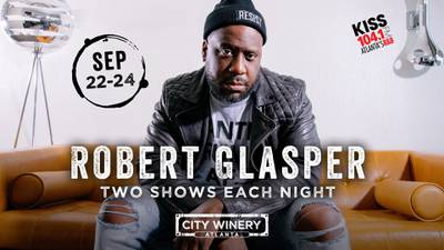 Listen for a chance to win tickets to see Robert Glasper!