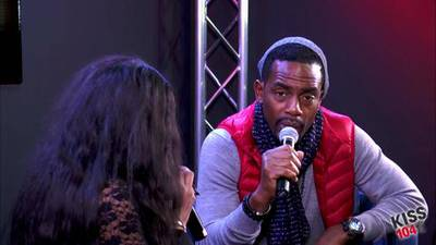 Bill Bellamy in the KISS 104.1 Live Lounge Part 2