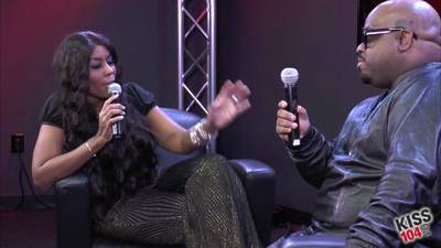 CeeLo Green in the KISS 104.1 Live Lounge - Part 2