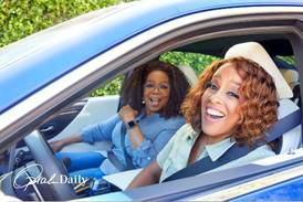 Oprah Winfrey and Gayle King give advice to Destiny's Child and accept their glamping invitation