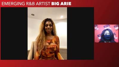 Emerging R&B artist Big Arie