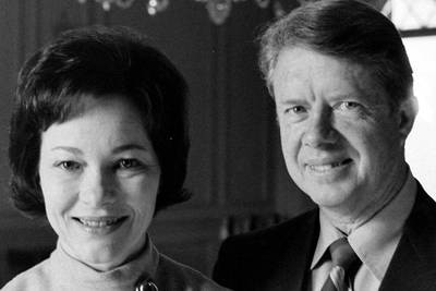 Photos: Jimmy and Rosalynn Carter's 74-year marriage