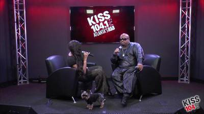 CeeLo Green in the KISS 104.1 Live Lounge - Part 1