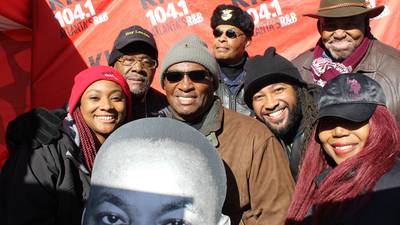 KISS 104.1 at the MLK March
