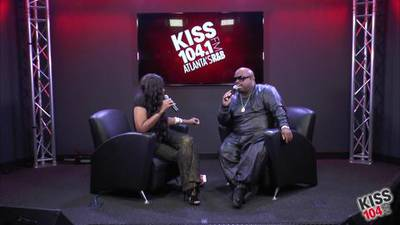 CeeLo Green in the KISS 104.1 Live Lounge - Part 3