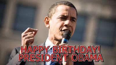 This Week In Black History - Happy Birthday President Barack Obama!